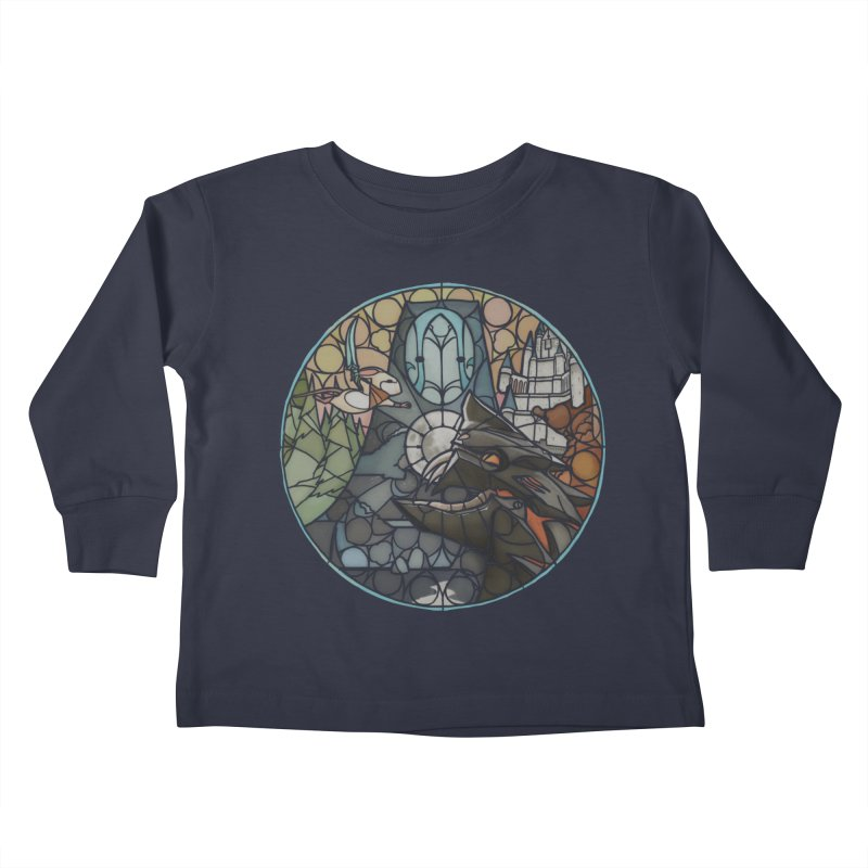 Moss Fragments Kids Toddler Longsleeve T-Shirt by polyarc games