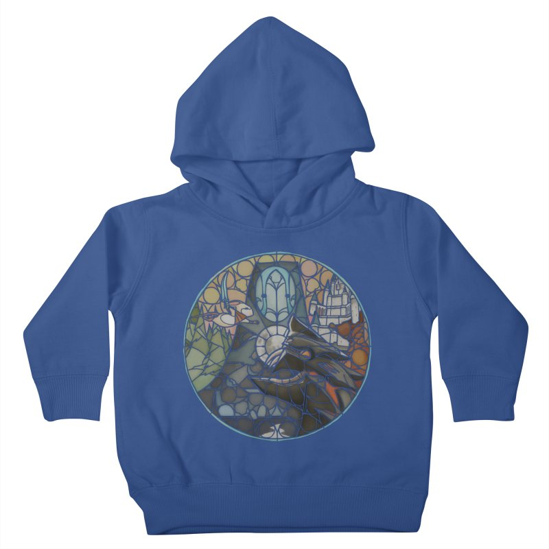 Moss Fragments Kids Toddler Pullover Hoody by polyarc games