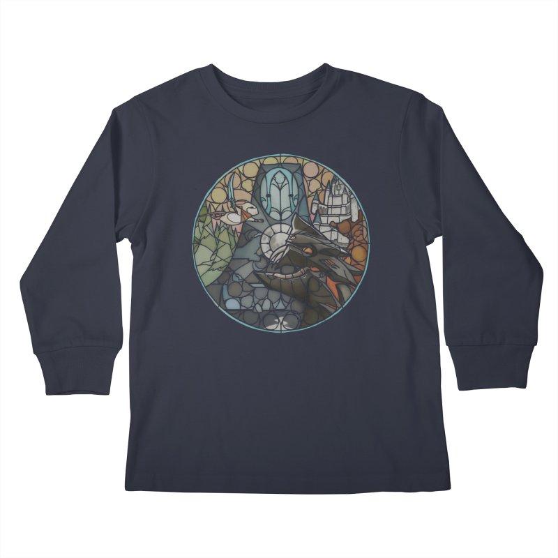 Moss Fragments Kids Longsleeve T-Shirt by polyarc games