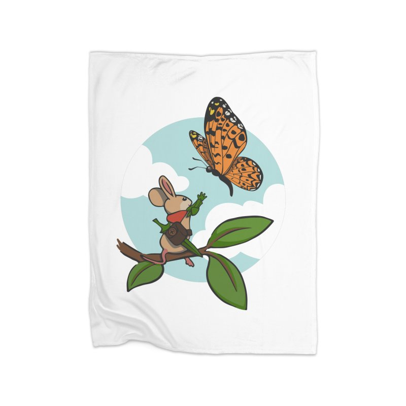 Moss - Quill & Butterfly Home Blanket by polyarc games