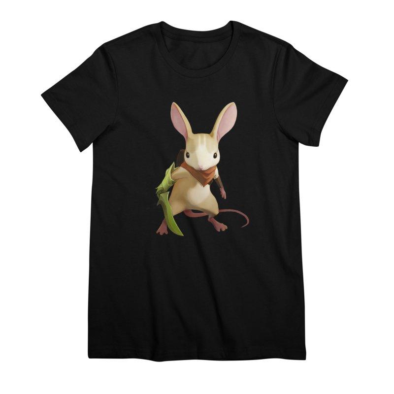 Moss - Quill Women's Premium T-Shirt by polyarc games