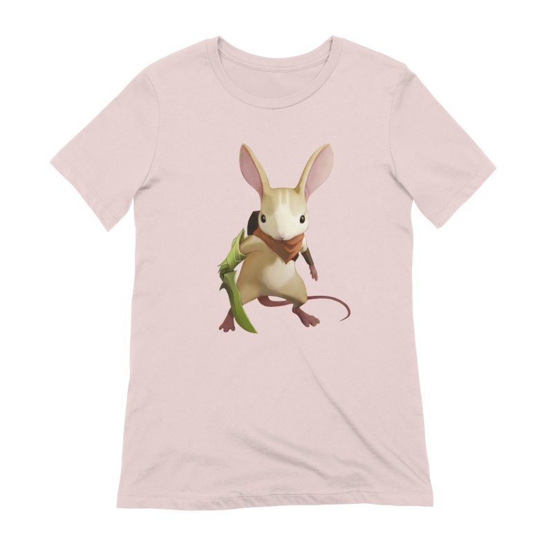 Moss - Quill Women's Extra Soft T-Shirt by polyarc games