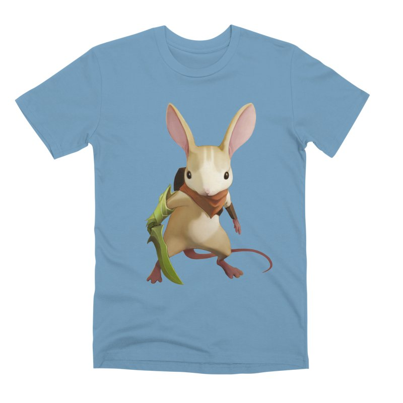 Moss - Quill Men's Premium T-Shirt by polyarc games