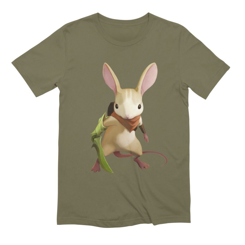 Moss - Quill Men's Extra Soft T-Shirt by polyarc games