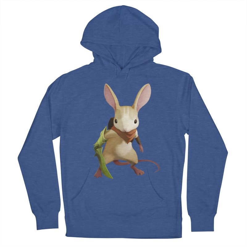 Moss - Quill Men's French Terry Pullover Hoody by polyarc games