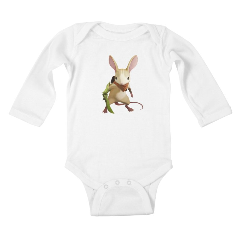 Moss - Quill Kids Baby Longsleeve Bodysuit by polyarc games