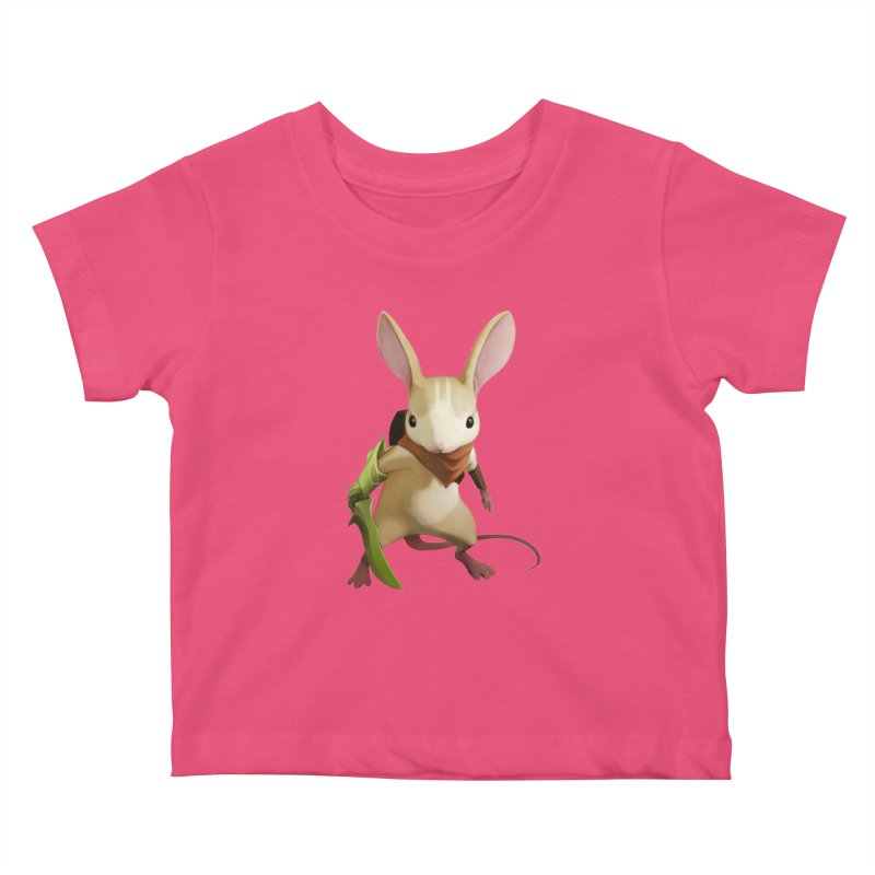 Moss - Quill Kids Baby T-Shirt by polyarc games