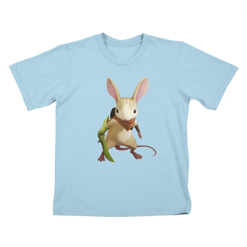 Moss - Quill Kids T-Shirt by polyarc games
