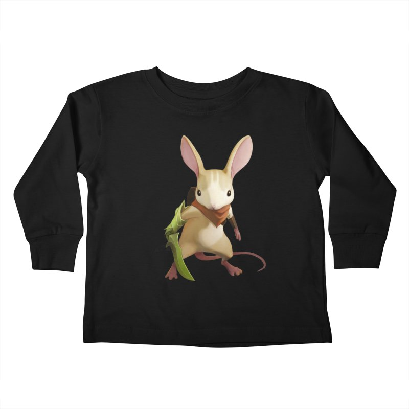 Moss - Quill Kids Toddler Longsleeve T-Shirt by polyarc games