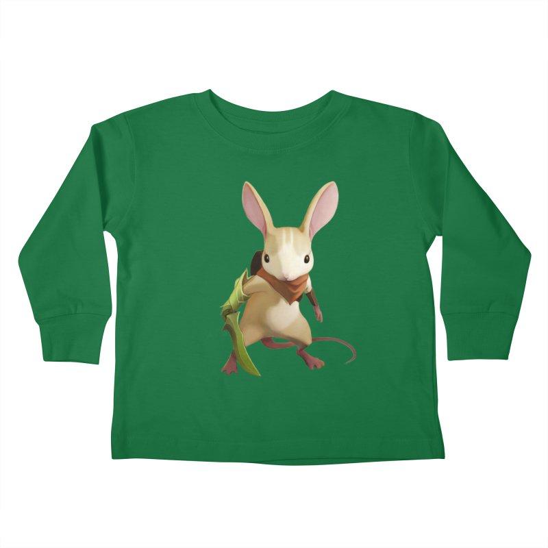 Moss - Quill Kids Toddler Longsleeve T-Shirt by polyarc games