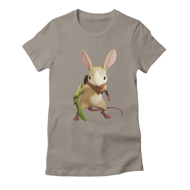 Moss - Quill Women's Fitted T-Shirt by polyarc games