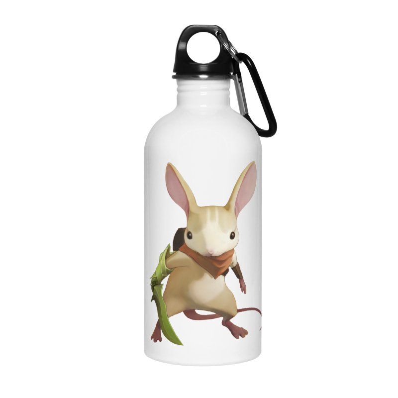 Moss - Quill Accessories Water Bottle by polyarc games