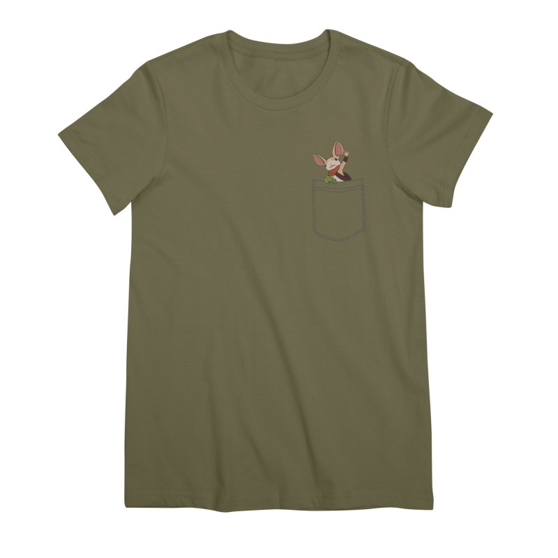 Pocket Quill Women's Premium T-Shirt by polyarc games