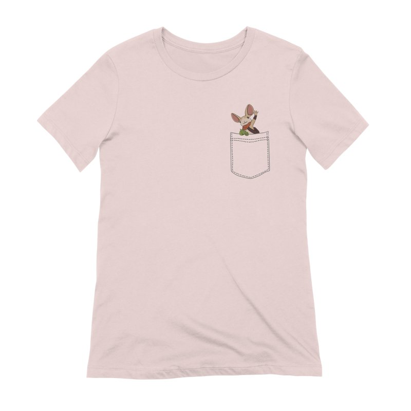 Pocket Quill Women's Extra Soft T-Shirt by polyarc games