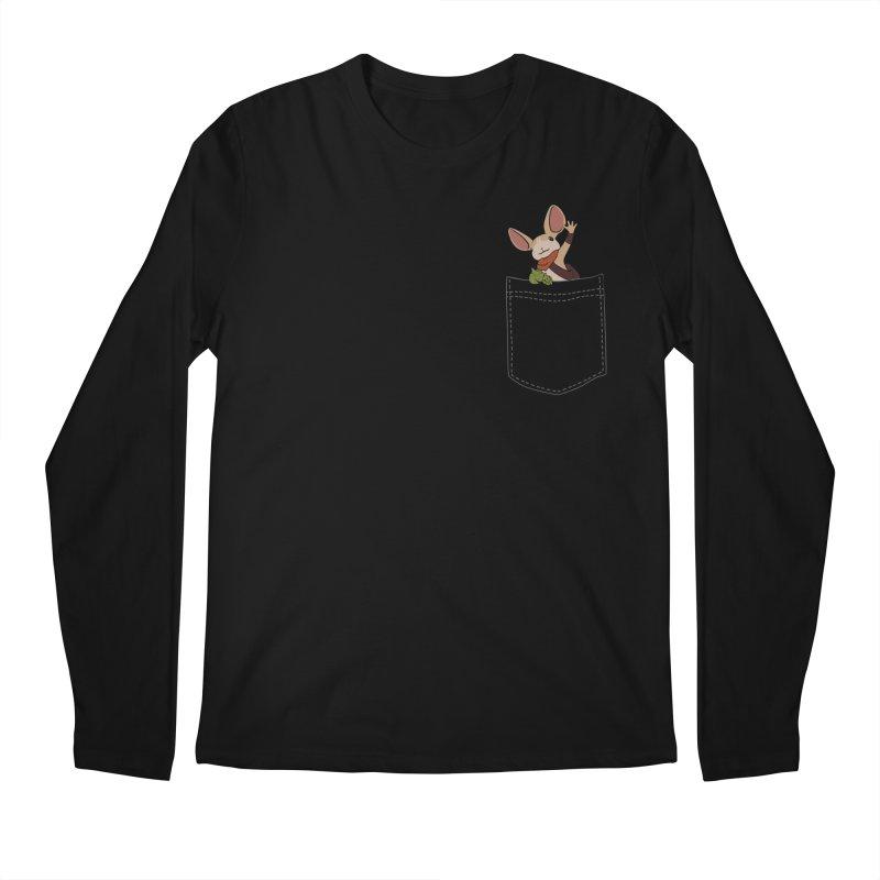 Pocket Quill Men's Regular Longsleeve T-Shirt by polyarc games