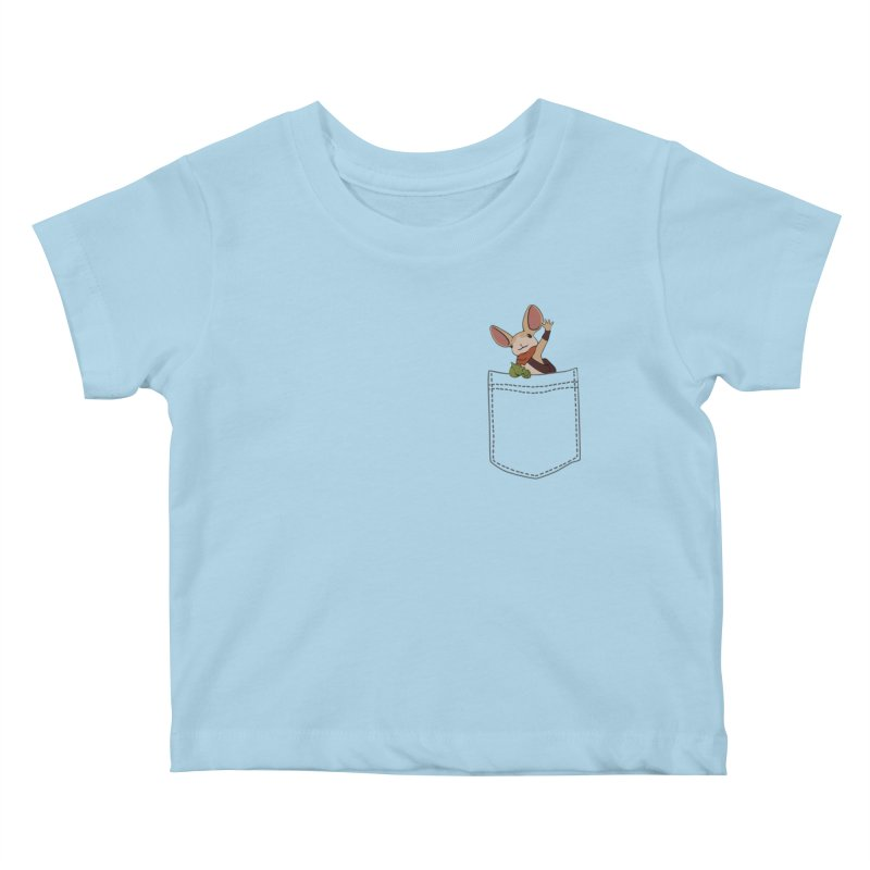 Pocket Quill Kids Baby T-Shirt by polyarc games