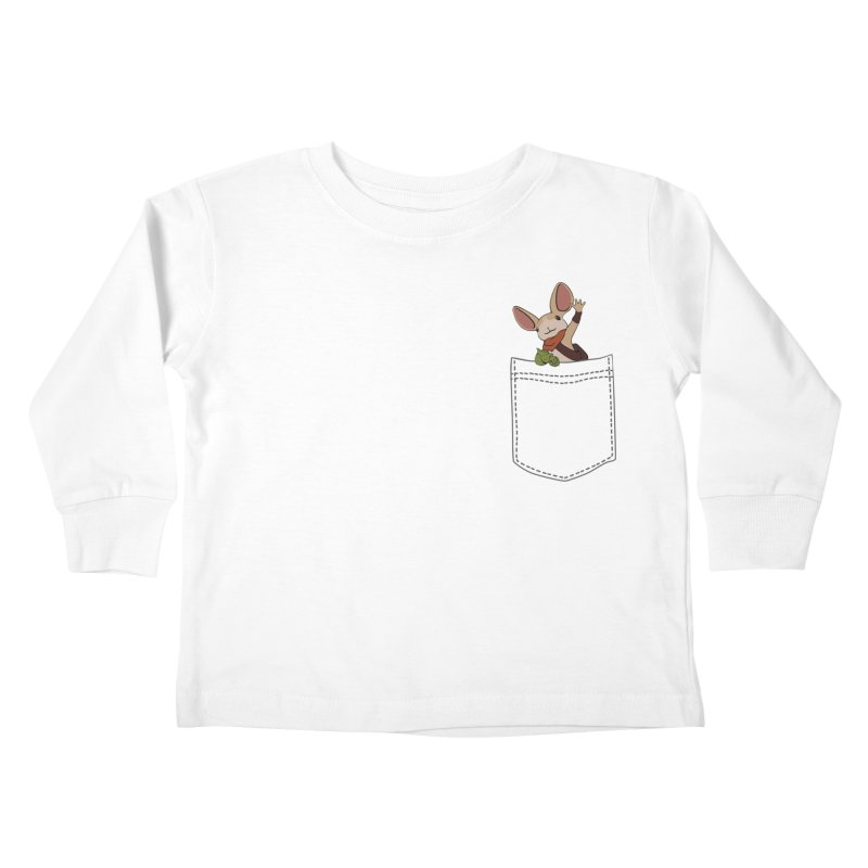 Pocket Quill Kids Toddler Longsleeve T-Shirt by polyarc games