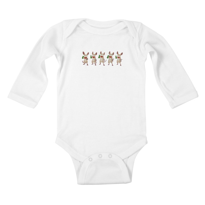 Q-U-I-L-L Kids Baby Longsleeve Bodysuit by polyarc games