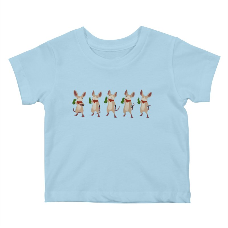 Q-U-I-L-L Kids Baby T-Shirt by polyarc games