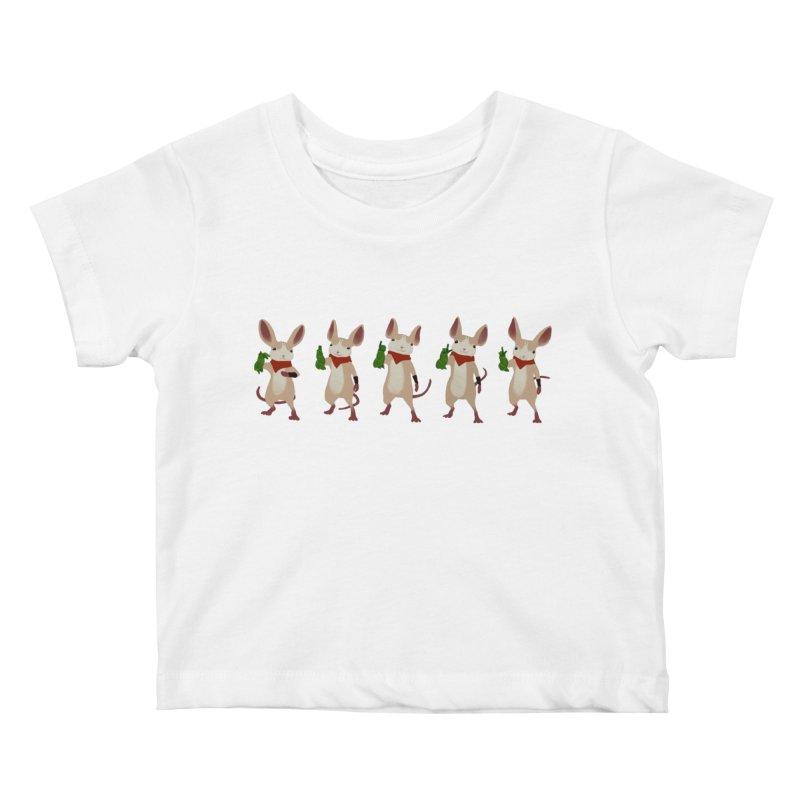 Q-U-I-L-L Kids Baby T-Shirt by polyarc games