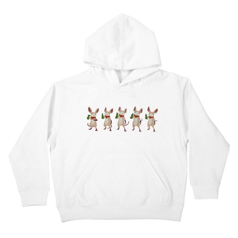 Q-U-I-L-L Kids Pullover Hoody by polyarc games