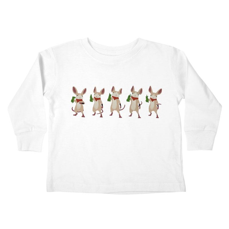 Q-U-I-L-L Kids Toddler Longsleeve T-Shirt by polyarc games