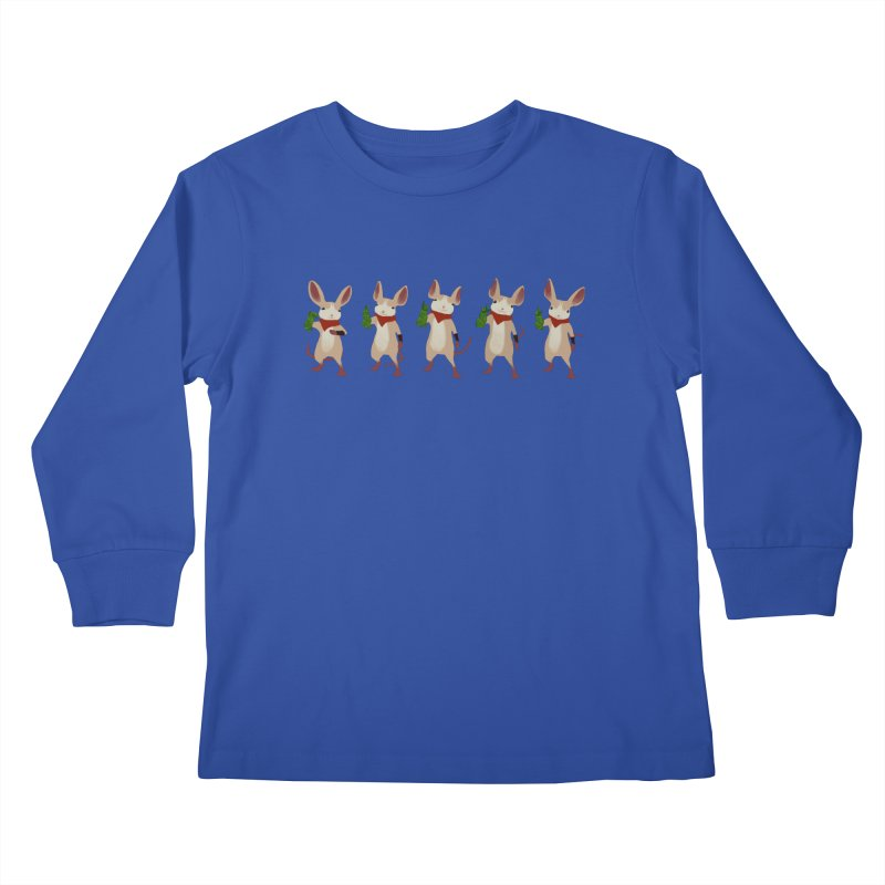 Q-U-I-L-L Kids Longsleeve T-Shirt by polyarc games