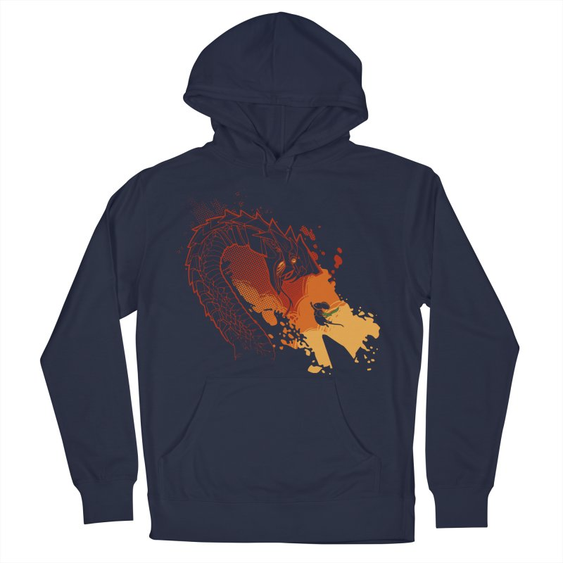 Unlikely Hero Women's French Terry Pullover Hoody by polyarc games