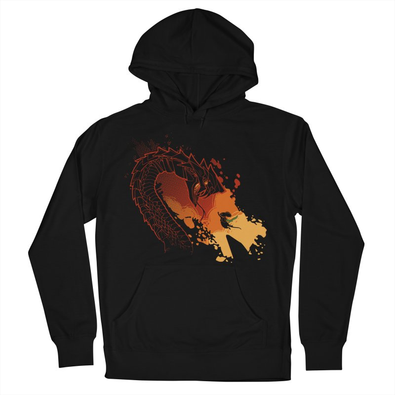 Unlikely Hero Men's French Terry Pullover Hoody by polyarc games