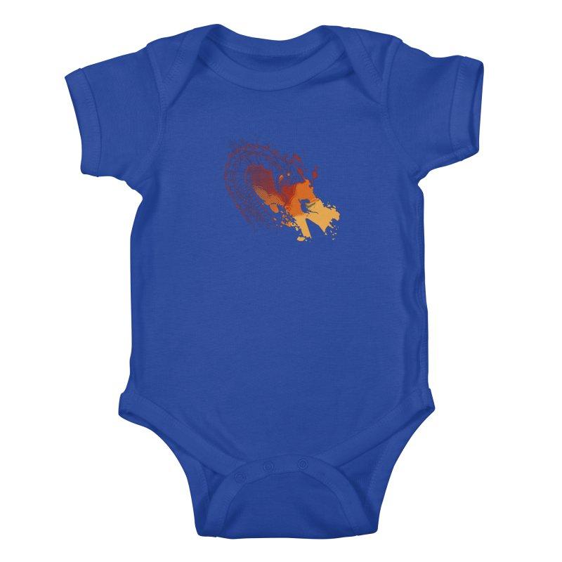Unlikely Hero Kids Baby Bodysuit by polyarc games