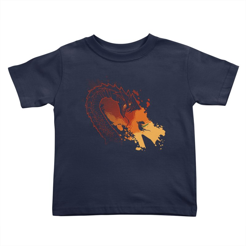 Unlikely Hero Kids Toddler T-Shirt by polyarc games