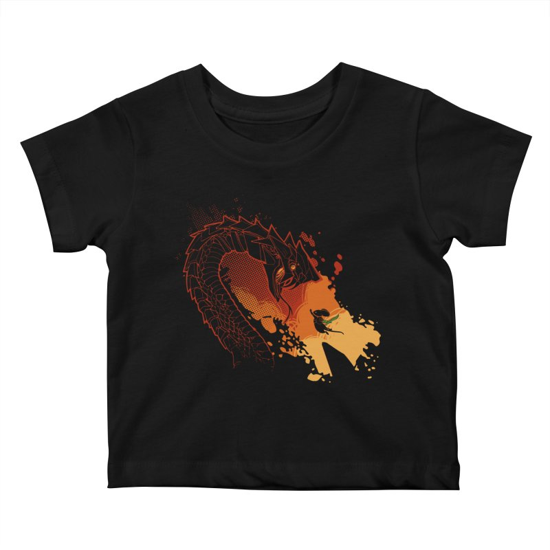 Unlikely Hero Kids Baby T-Shirt by polyarc games