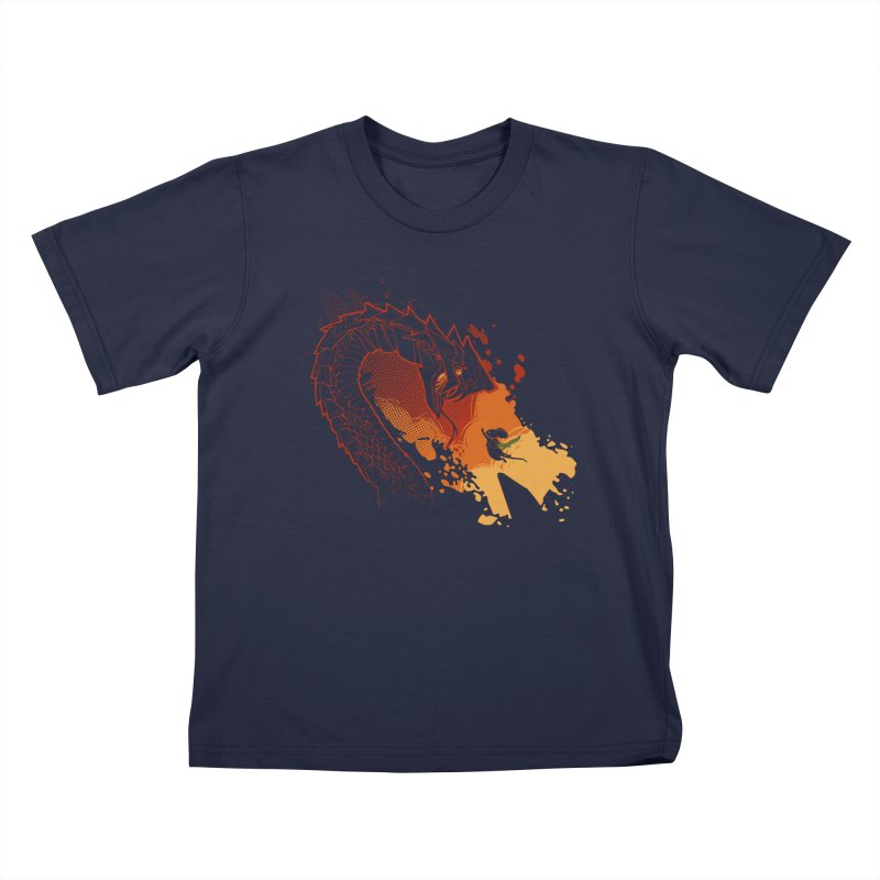 Unlikely Hero Kids T-Shirt by polyarc games