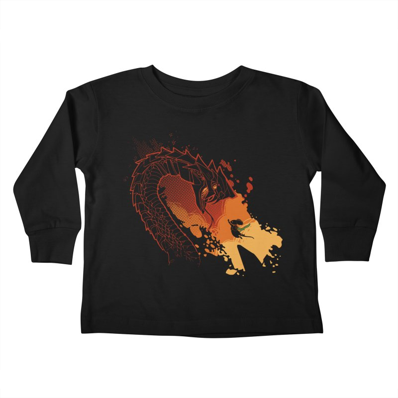 Unlikely Hero Kids Toddler Longsleeve T-Shirt by polyarc games