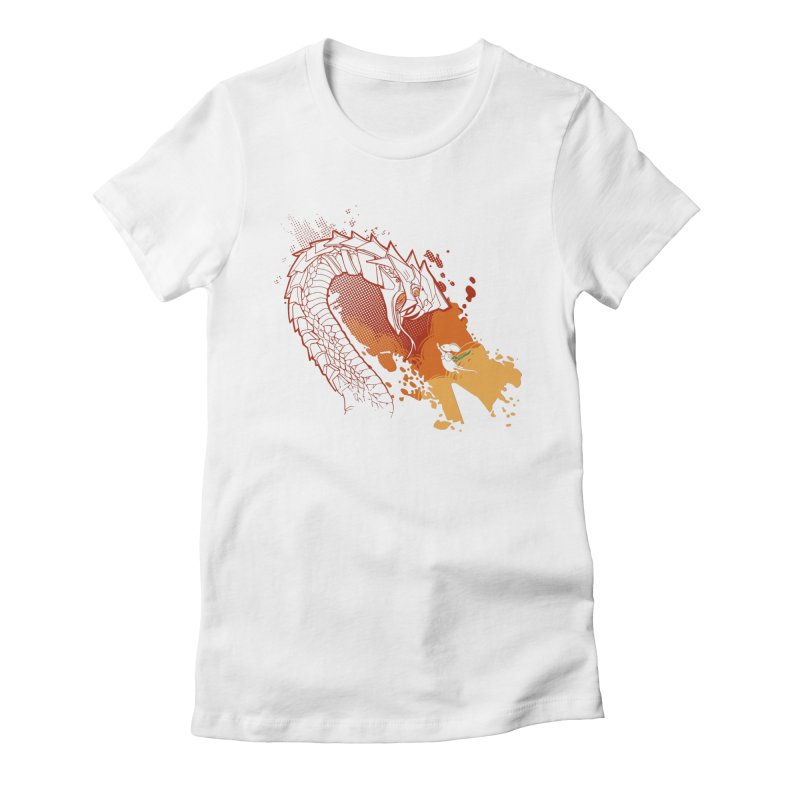 Unlikely Hero in Women's Fitted T-Shirt White by polyarc games