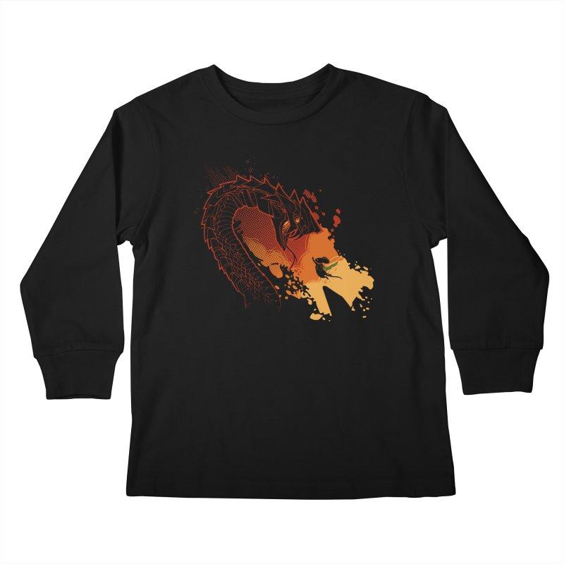 Unlikely Hero Kids Longsleeve T-Shirt by polyarc games
