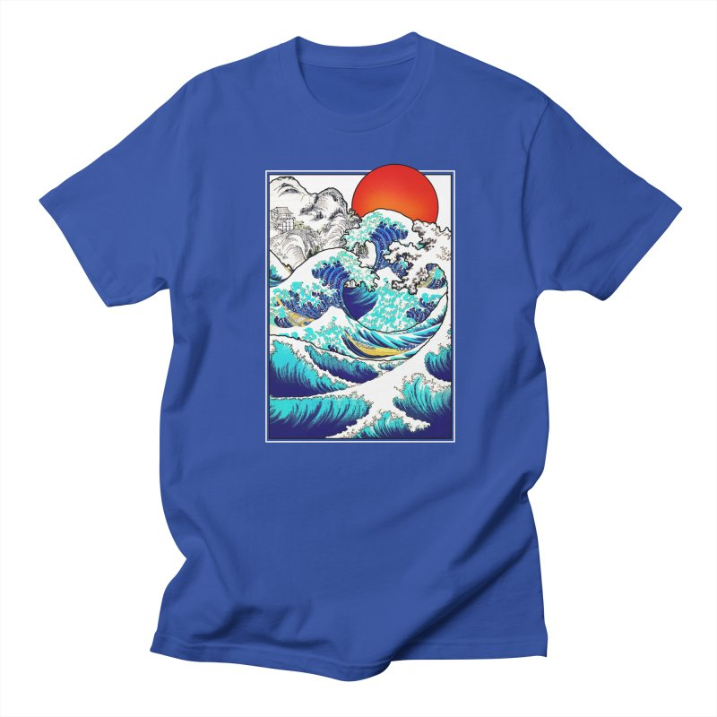 Asian Tides Men's T-shirt by