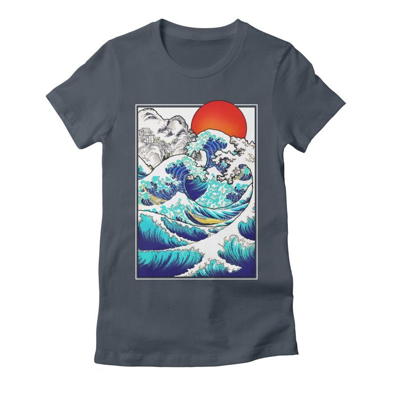 Asian Tides Women's Fitted T-Shirt by