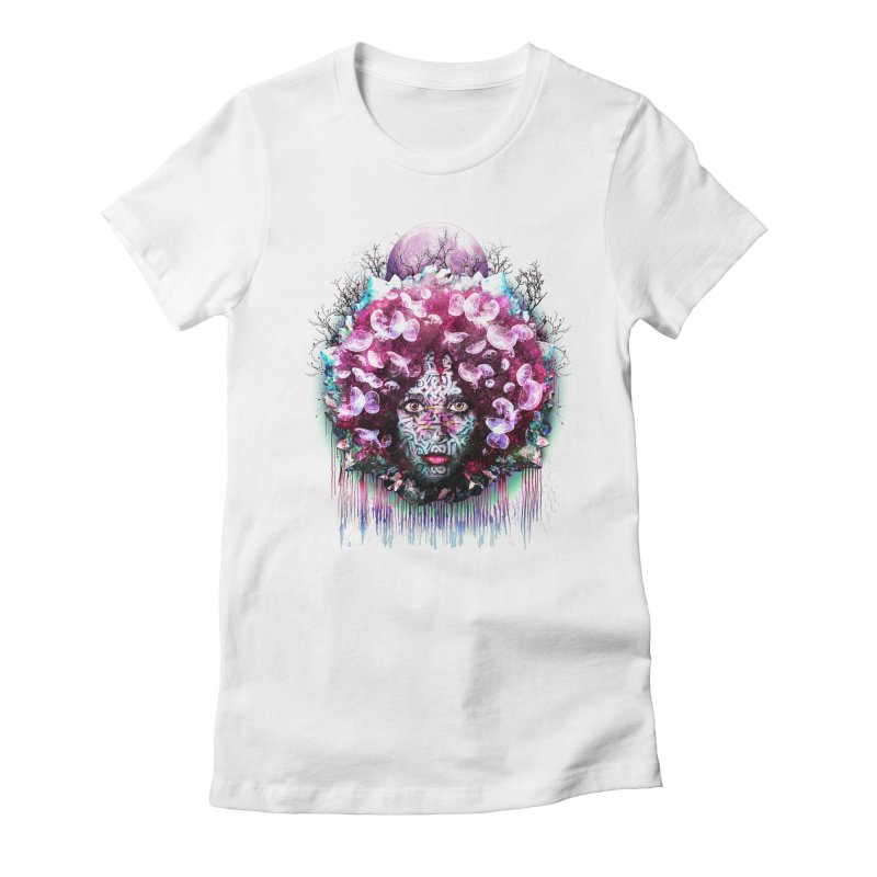Crystalline Women's Fitted T-Shirt by