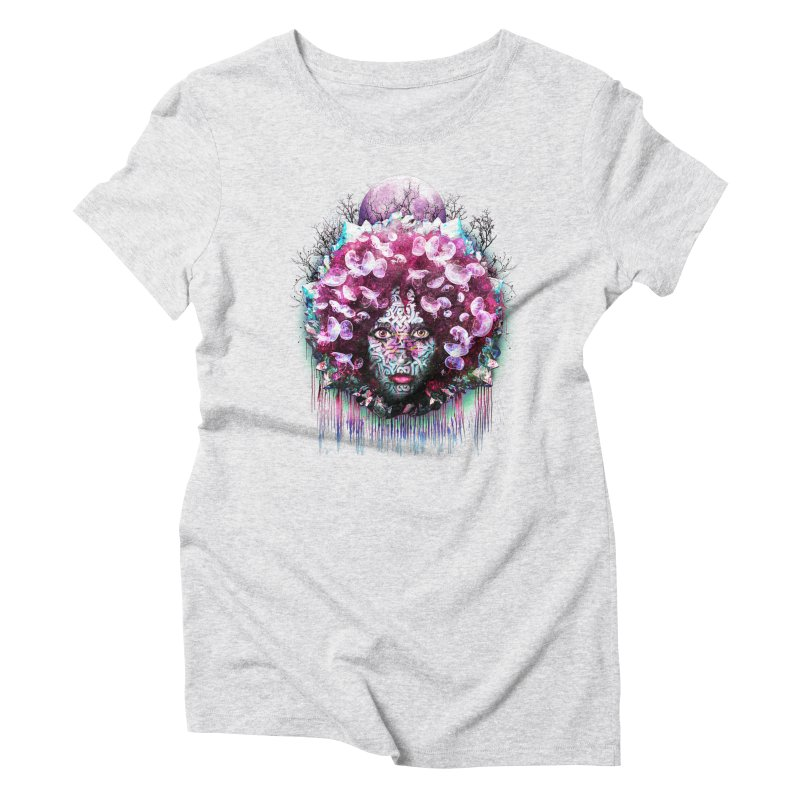 Crystalline Women's Triblend T-shirt by