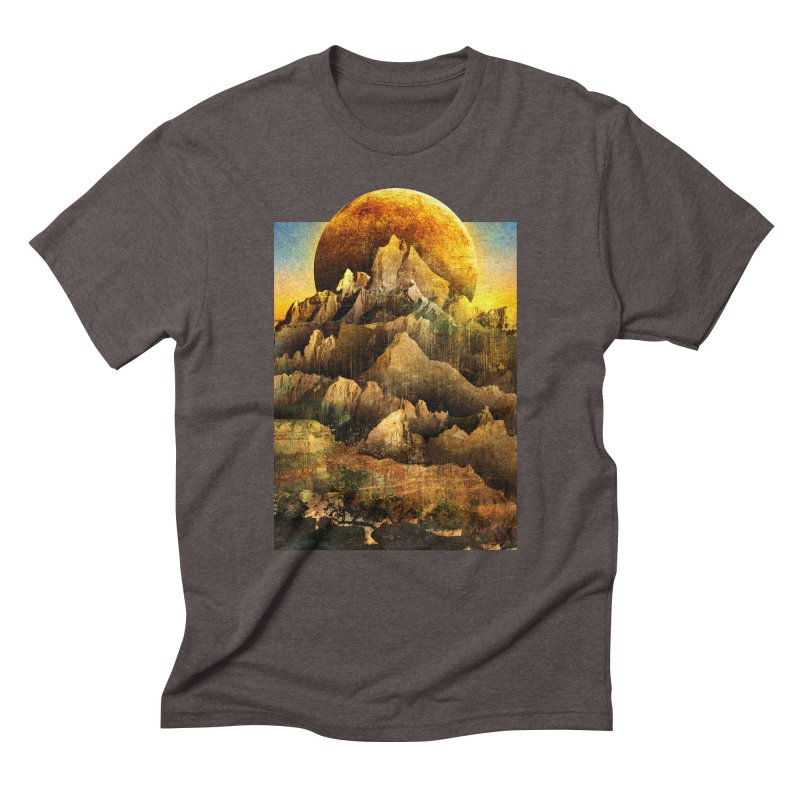 Mountains Men's Triblend T-shirt by