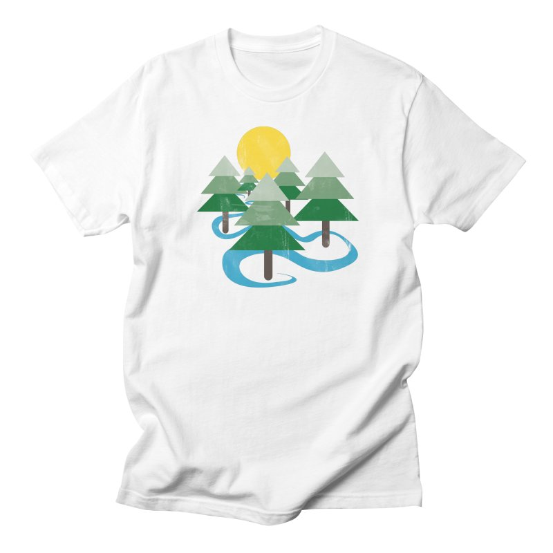 Minimalist Forest Men's T-shirt by