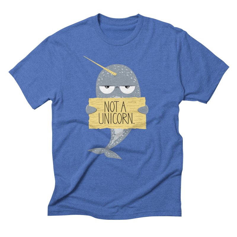 Not A Unicorn Men's Triblend T-shirt by
