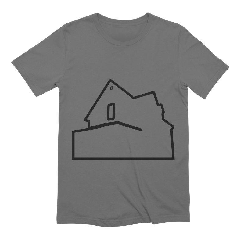 American Football - House Silhouette (black) Men's Extra Soft T-Shirt by Polyvinyl Threadless Shop