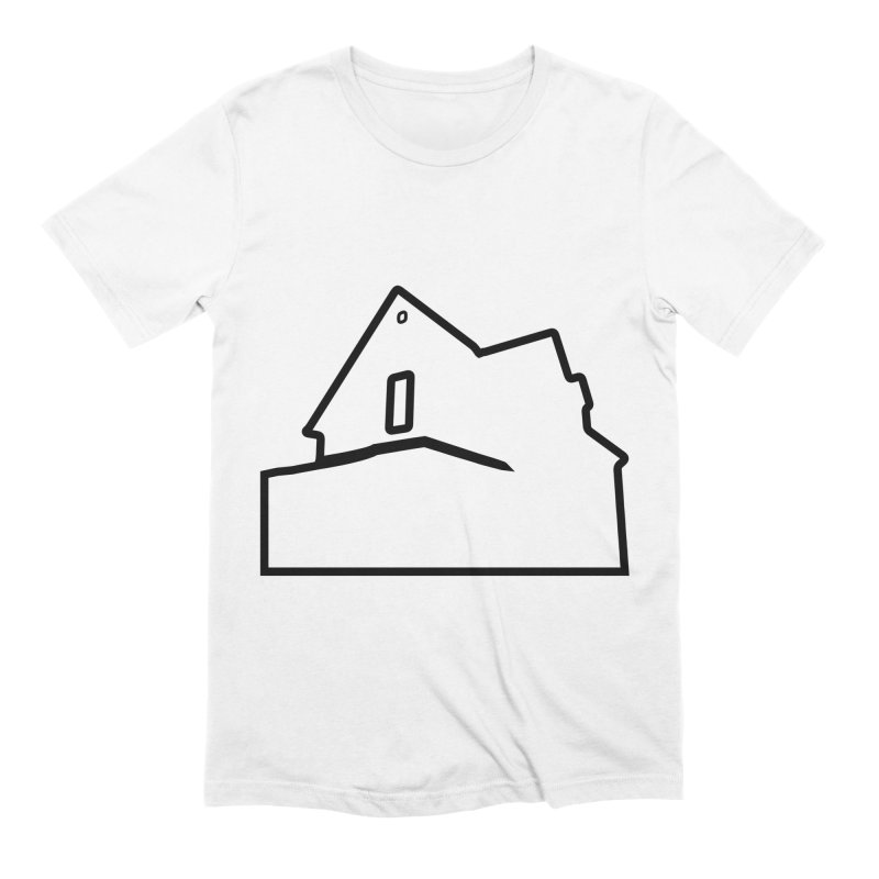 American Football - House Silhouette (black) Men's Extra Soft T-Shirt by Polyvinyl Threadless Shop