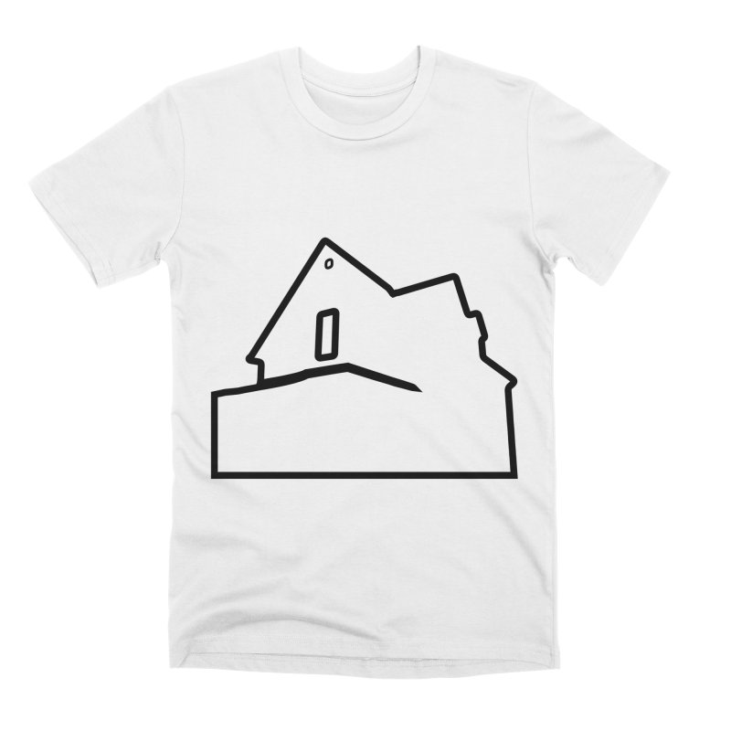 American Football - House Silhouette (black) Men's Premium T-Shirt by Polyvinyl Threadless Shop