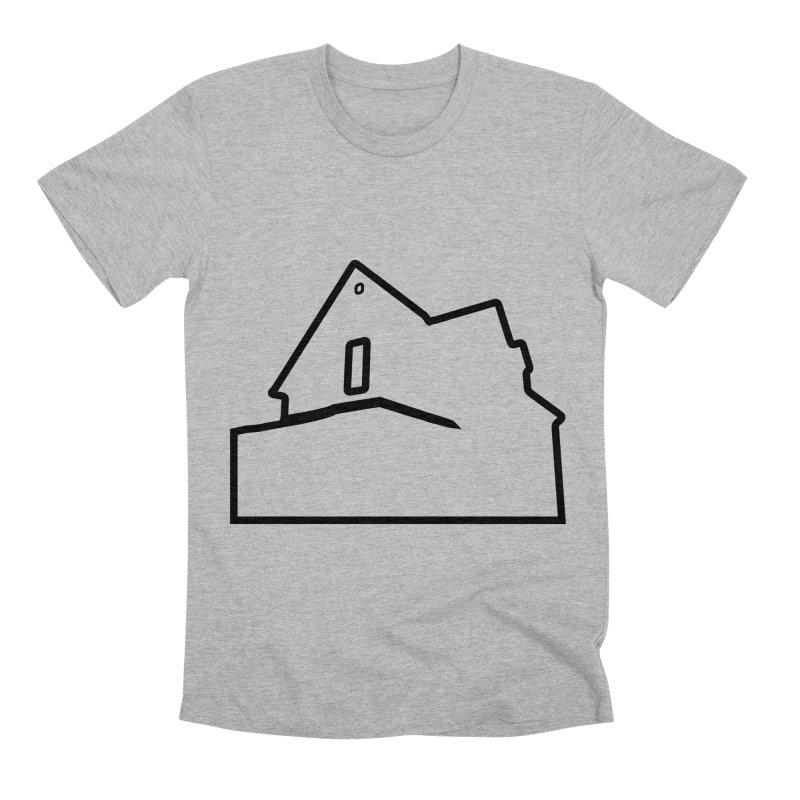 American Football - House Silhouette (black) Men's Premium T-Shirt by Polyvinyl Threadless Shop
