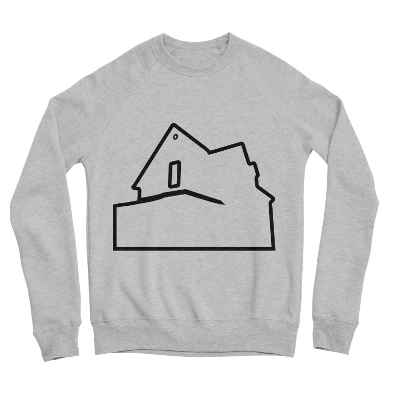 American Football - House Silhouette (black) Men's Sponge Fleece Sweatshirt by Polyvinyl Threadless Shop