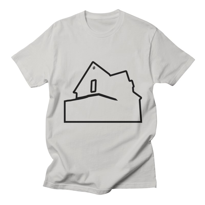 American Football - House Silhouette (black) in Men's Regular T-Shirt Stone by Polyvinyl Threadless Shop