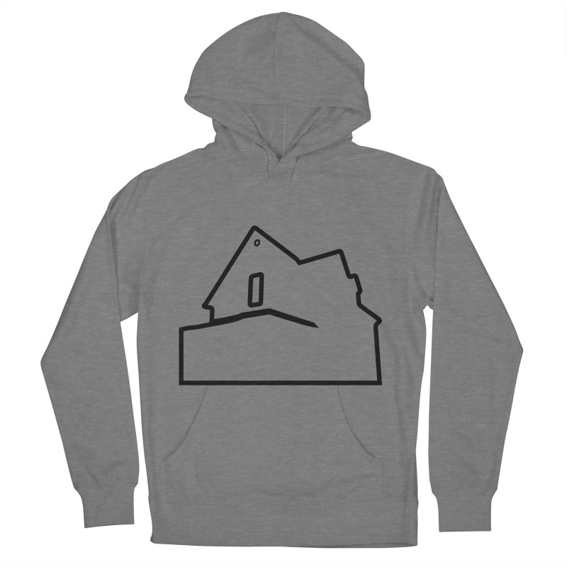 American Football - House Silhouette (black) Women's French Terry Pullover Hoody by Polyvinyl Threadless Shop
